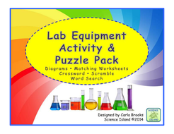 lab equipment activity and puzzles by scienceisland teaching resources tes. Black Bedroom Furniture Sets. Home Design Ideas
