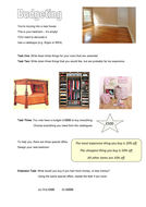 Budgeting for a Bedroom