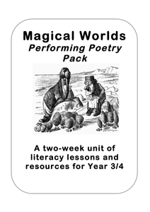 'Magical Worlds' Poetry Planning for Years 3 and 4 by