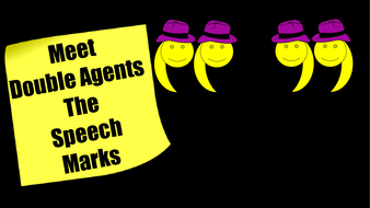Inverted Commas (Speech Marks):  PowerPoint Lesson