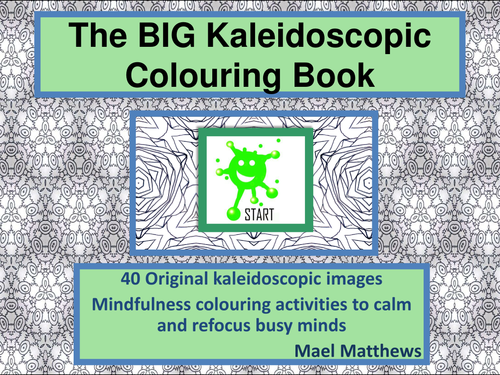 The Kaleidoscopic Colouring Book