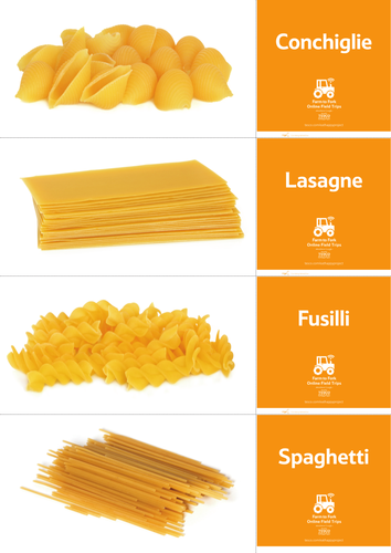 Pasta name match game (5-11) by EatHappy - UK Teaching Resources - TES