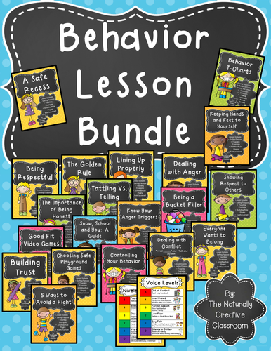 Top Resolutions: Behavior Lesson BUNDLE!