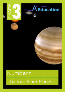 Numbers - The Four Inner Planets - Grade 3 by Vaughan ...