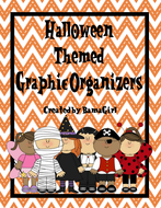 Halloween Themed Reading Graphic Organizers