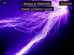 AQA Physics A Level (7407) Chapter 12 - Electrical Current