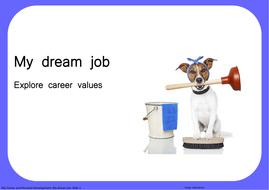 My dream job: Explore career values
