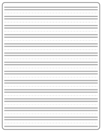 Lined Writing Paper (FREE) Letter Sized