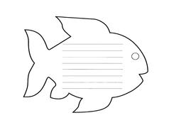 rainbow fish resource pack by bestprimaryteachingresources
