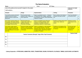The-Game-Evaluation.doc