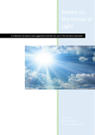 Poems and activities on the theme of light for primary school