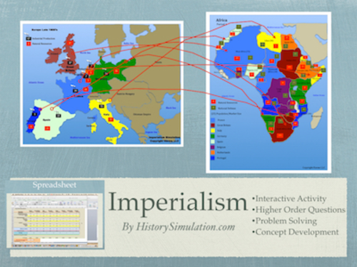 European Imperialism In Asia And Africa Simulation Activity By