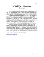 Teacher-Overview-WWI.docx