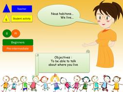 Description pictures exercises