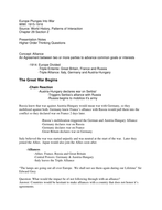 WWI-Europe-Plunges-Into-War-Outline-Notes.rtf