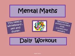 Daily-Mental-Maths-Workout-H.ppt