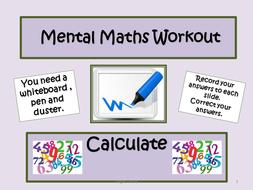 Daily-Mental-Maths-Workout-C.ppt