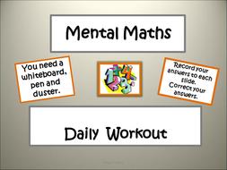 Daily-Mental-Maths-Workout-E.ppt