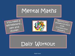 Daily-Mental-Maths-Workout-G.ppt