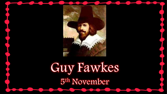 Guy Fawkes Booklet