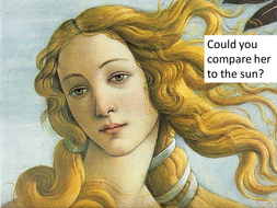 my mistress eyes sonnet