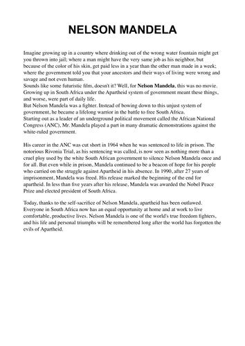 7 effective application essay tips for nelson mandela essay pdf
