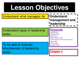 management and leadership powerpoint