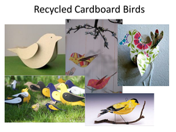 Green Week - Recycling (art and crafts)