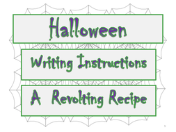 Halloween-Writing-Instructions----A-Revolting-Recipe.ppt
