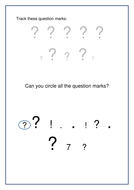 Question Mark Tracking