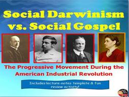 social darwinism vs social gospel