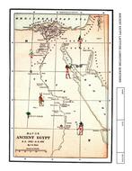 Worksheet ANCIENT EGYPT Latitude Longitude Questions Map By - Map of egypt latitude and longitude