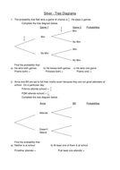Probability Tree Diagrams by jessica_walter - Teaching Resources - Tes