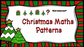 Worksheet. Christmas Maths Patterns Activities Lesson plan PowerPoint and