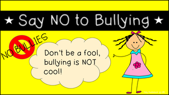 anti bullying posters by pollypuddleduck teaching resources tes