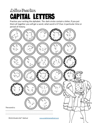 Cursive Alphabet Handwriting Worksheets for 5 - 11 years: Mary ...
