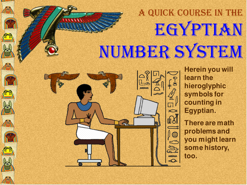 Power Point Worksheet Collection Ancient History Egyptian Number