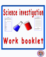 Science Investigation Booklet STEAM Activity