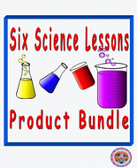 Six Science STEAM Lessons Products Bundle Pack