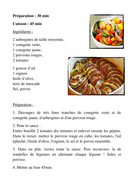 food and drinks activity worksheet