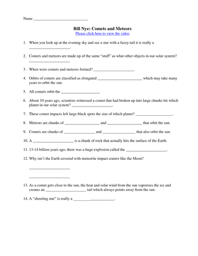 Printables Bill Nye Static Electricity Worksheet bill nye video worksheets complete 20 worksheet collection by teachwithfergy teaching resources tes