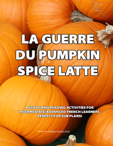 Language Resources: La Guerre du Pumpkin Spice Latte