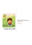 Activities and Resources for KS1 anti-bullying based on 'Leave Me Alone' by Kes Gray