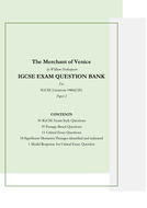 The Merchant of Venice by William Shakespeare-50 IGCSE Exam Style Questions and 1 Model Response