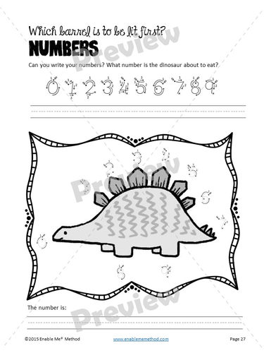 cursive alphabet handwriting worksheets for 5 11 years dinosaurs by enablememethod uk. Black Bedroom Furniture Sets. Home Design Ideas