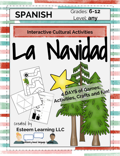 Holiday Celebrations: Interactive cultural activities for Christmas La Navidad