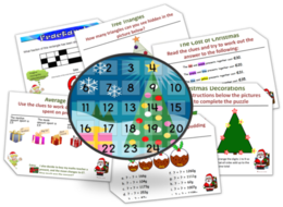 Christma(th)s - Christmas Maths Advent Starter Calendar