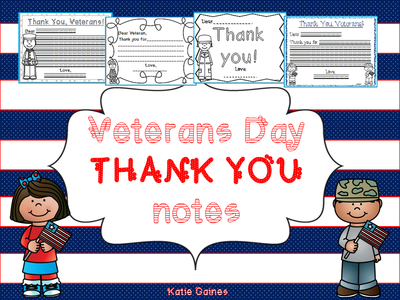 Veterans day thank you for Veterans day thank you letter template