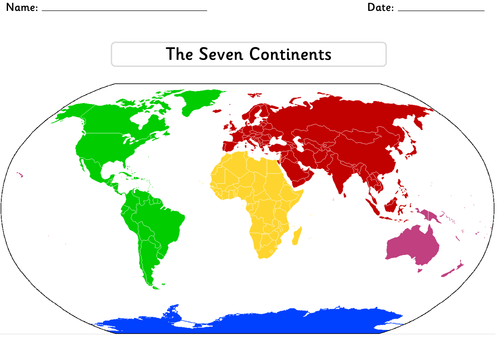 Ks1 geography locational knowledge the seven continents and five ks1 geography locational knowledge the seven continents and five oceans resource pack by highwaystar teaching resources tes gumiabroncs Gallery
