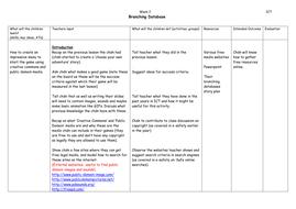 Branching-Database--week-2.doc